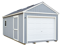 Garage Style Shed